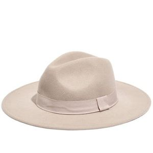 NWT Madewell x Biltmore Shaped Felted Hat